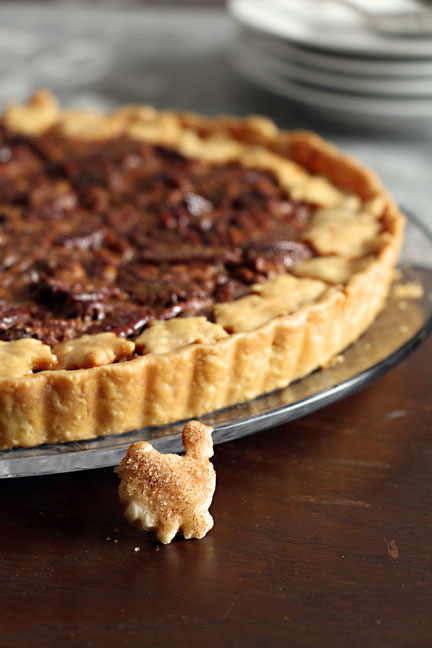 Maple Bourbon Pecan Tart