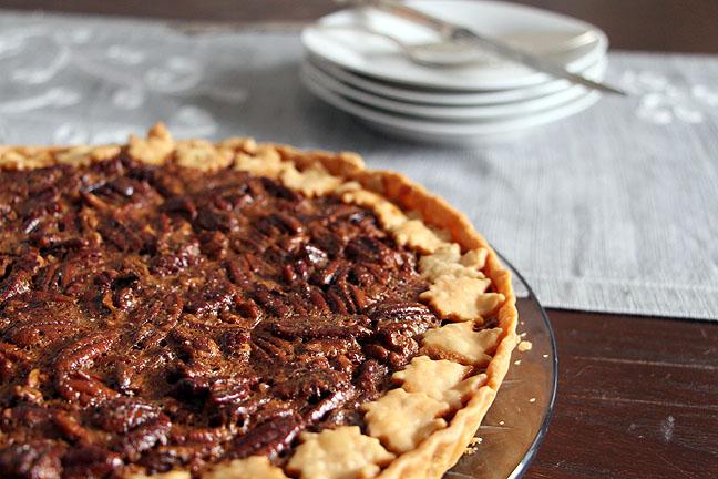 Maple Bourbon Pecan Tart