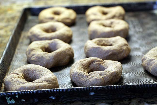 Bake bagels