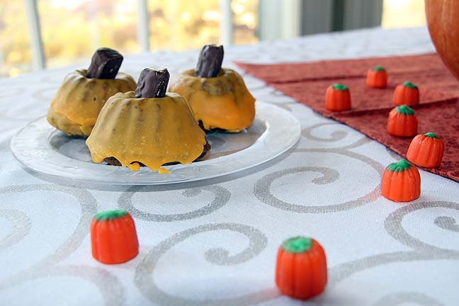 Fancy pumpkin muffins