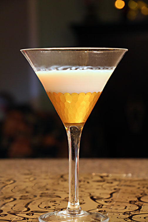 Blizzard White Chocolate Martini