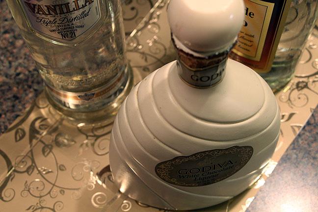 White Chocolate Martini Ingredients