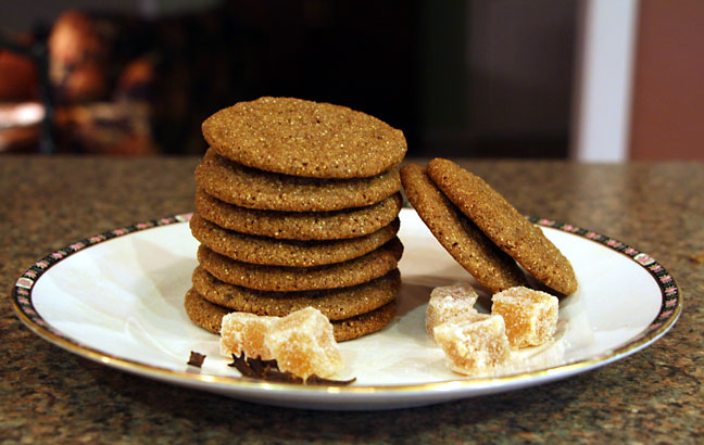 Crisp or Chewy Whole Grain Gingersnaps