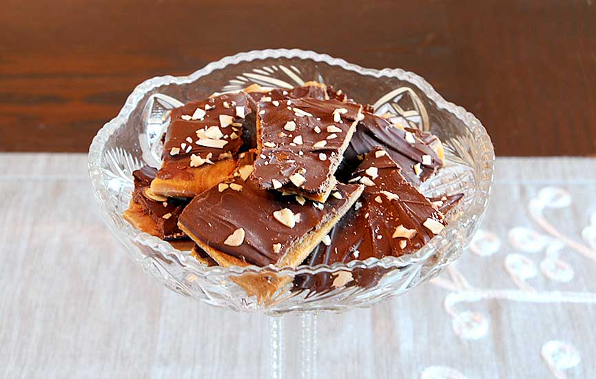 Homemade Toffee: Candy 101