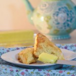 Orange Scones with Tea