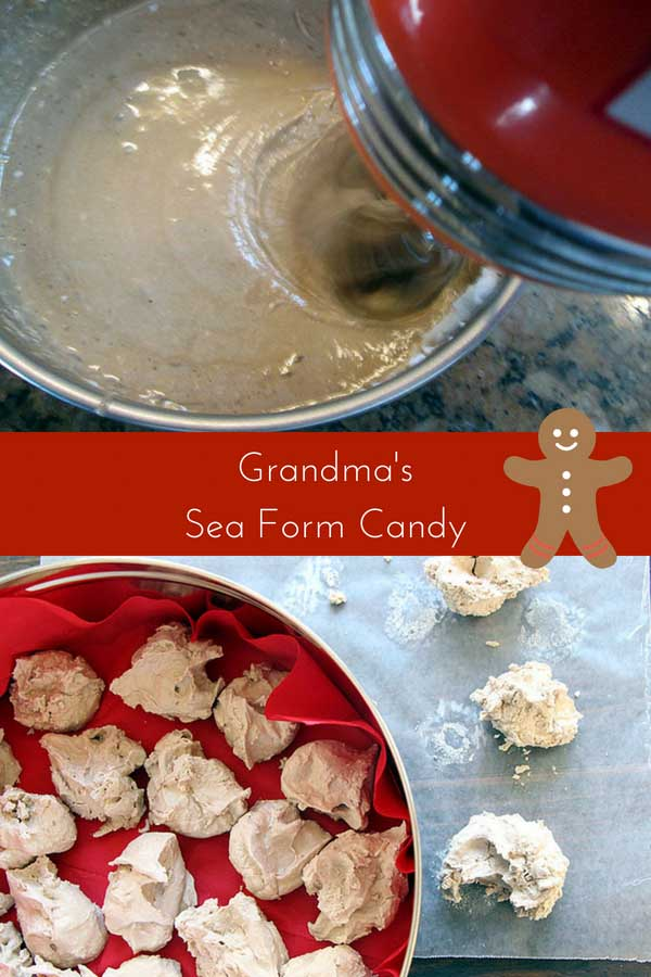 An old fashioned treat, sea foam candy is perfect for holidays and other special occasions. Here are Instructions direct from Grandma--with no corn syrup!
