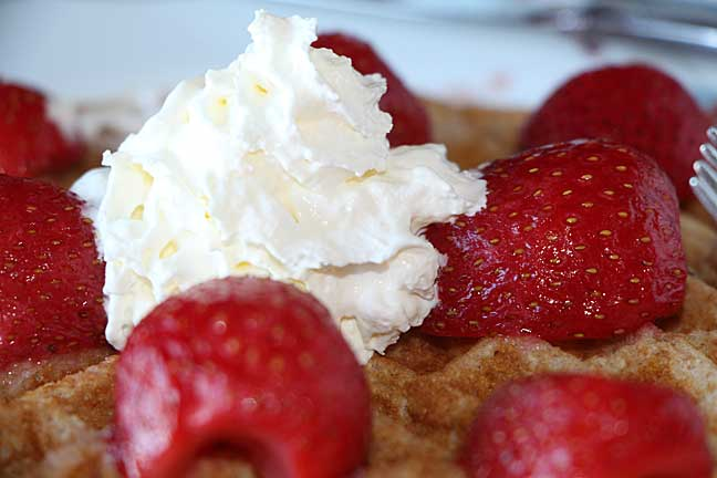 Start the New Year Right with Whole Wheat Waffles
