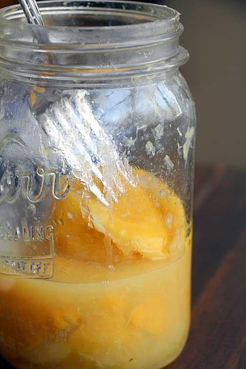 Homemade Preserved Lemon