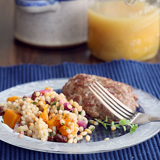 Israeli Couscous With Butternut Squash & Preserved Lemons ...