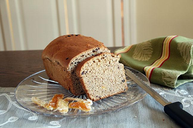 Orange Currant Bread