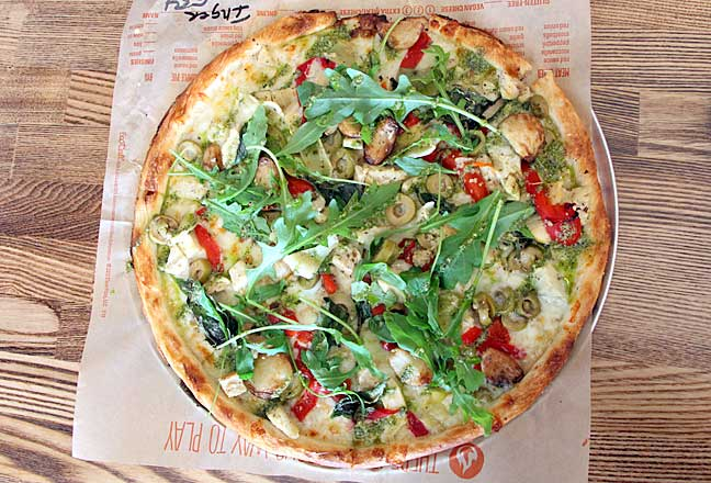 Blaze pizza - my way