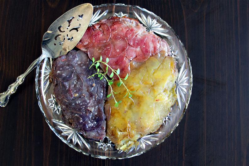 Tricolor Potatoes Anna