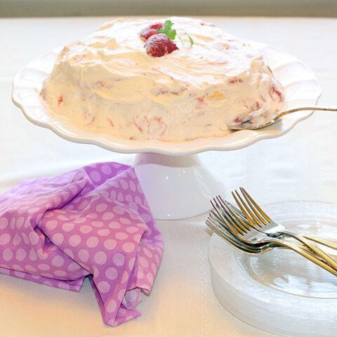 Strawberry Meringue Dessert