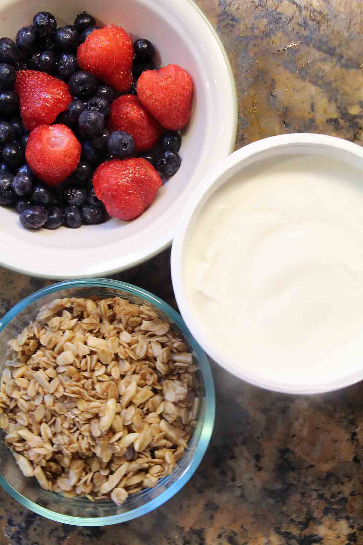 Homemade Maple Vanilla Granola take less than 10 minutes working time for a cost-saving, all natural treat. Great for breakfast or snacking.