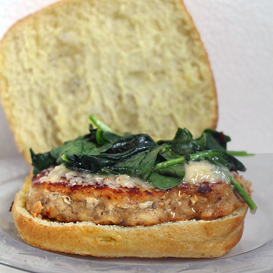 Florentine Chicken Burger