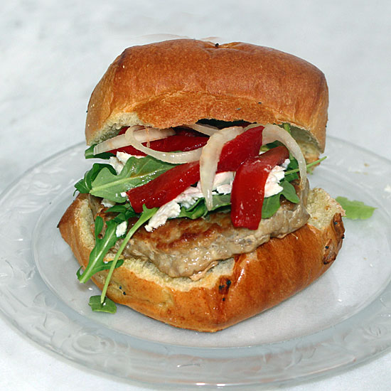 Greek Chicken Burger