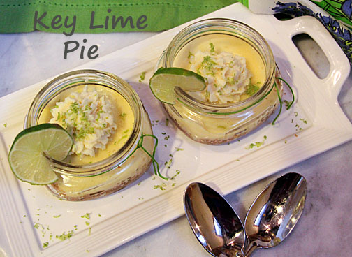 Key Lime Pie Minis