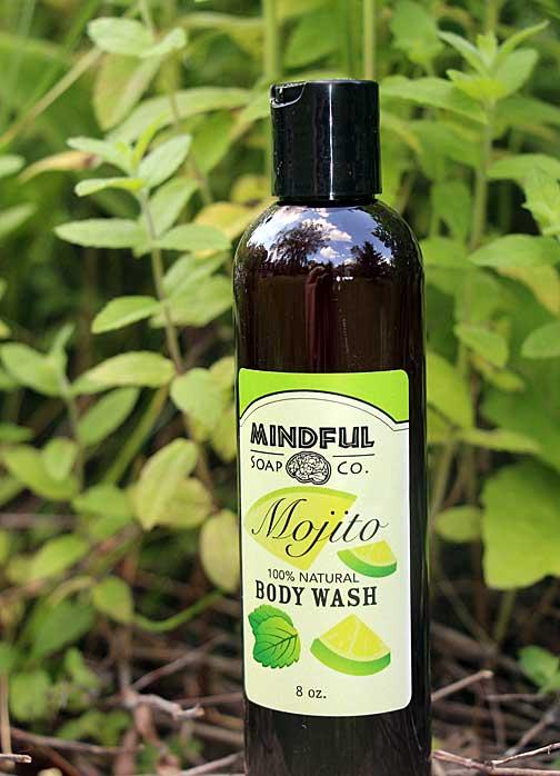 Natural Liquid Soap - Mojito Scent