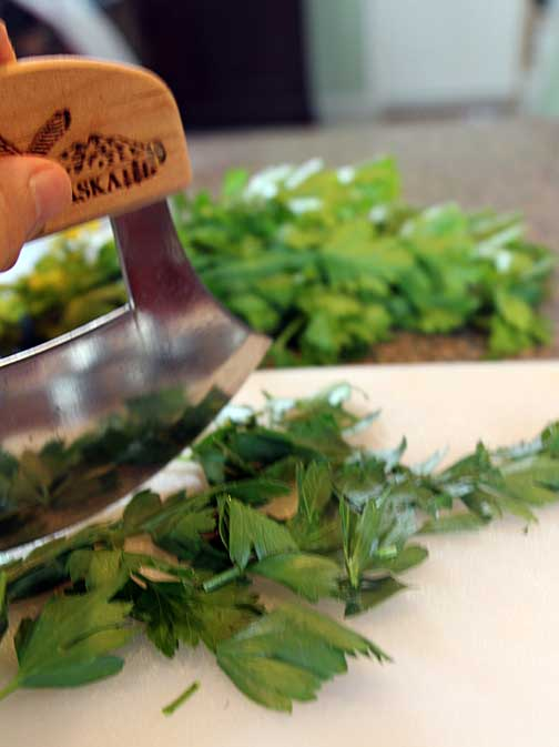 Cut Parsley