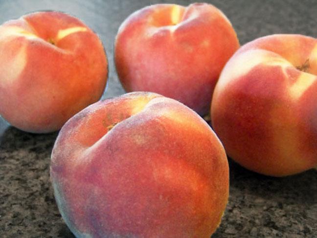 """""""Fuzzy fruit"""" peaches"""