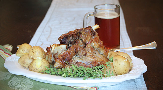 A German Style Pork Hock Bake-Off