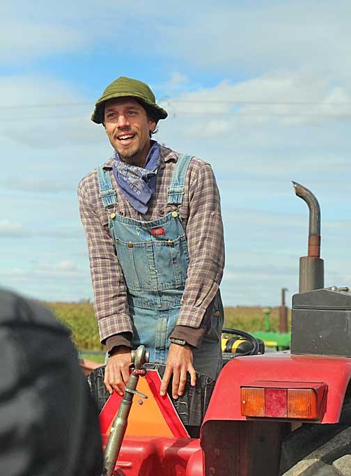 Fondy Farm Manager Steve Petro