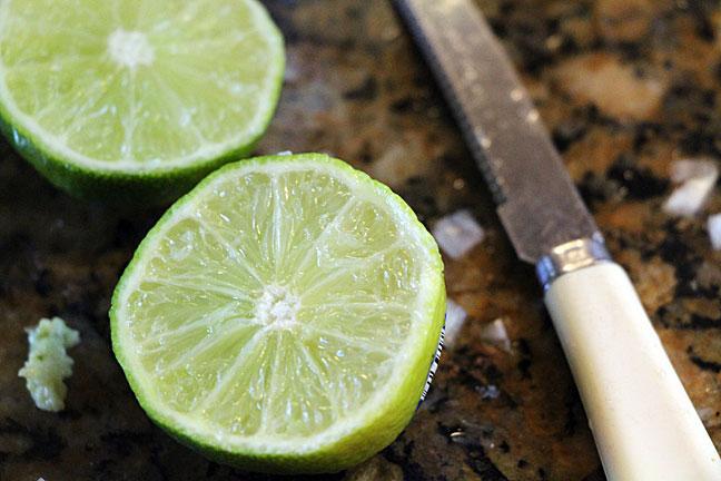 Guacamole-limes