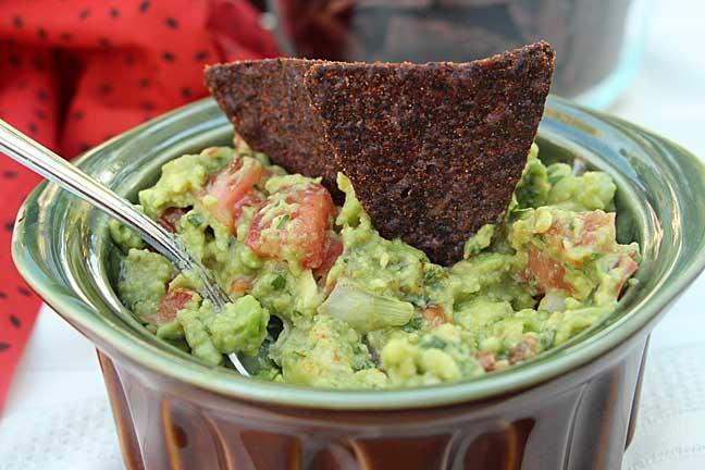 guacamole-closeup