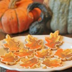 Fall Leaf Cookies, Served
