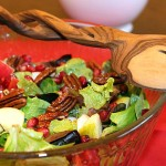 Apple Pomegranate Salad & Serving Spoons Giveaway
