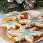 Christmas Cookie Snowflakes and Stars