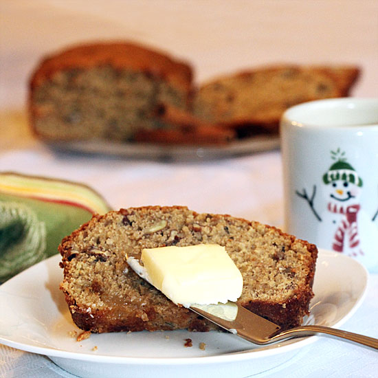 Spiced Peach Bread