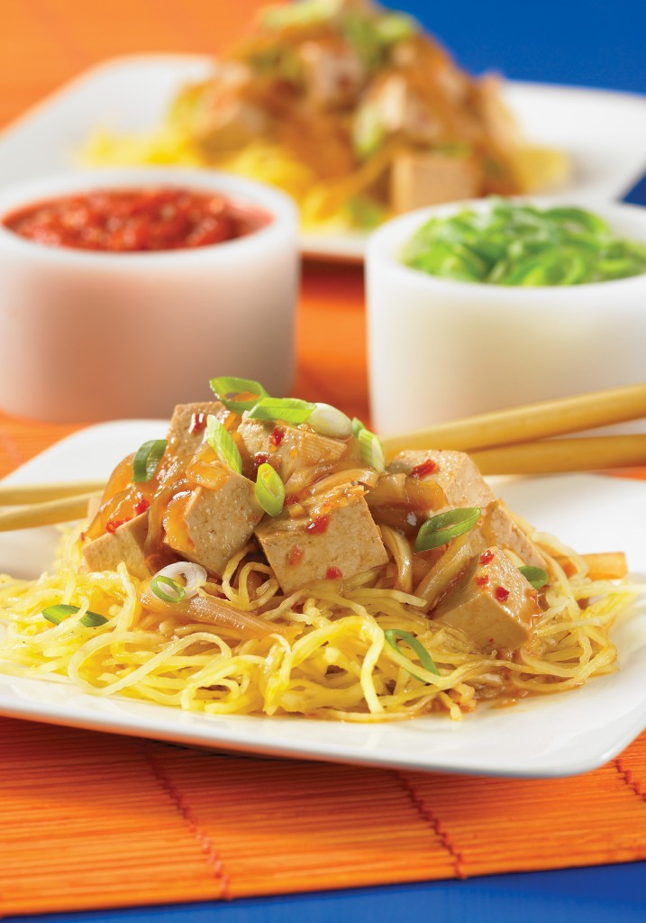 Japanese Ginger Noodle Bowls (photo from book)