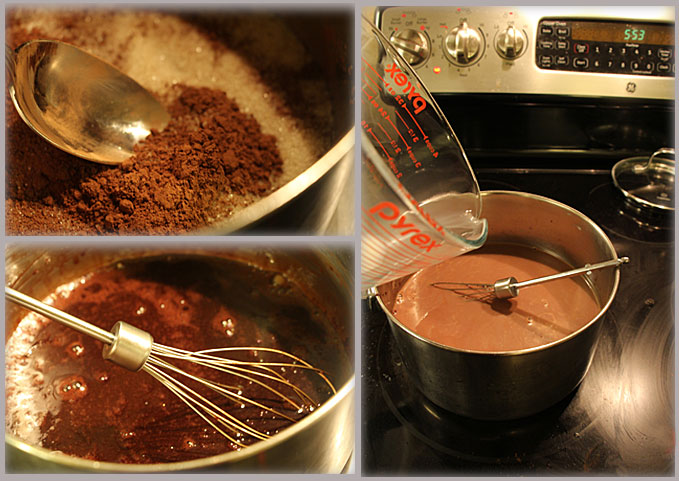 Making Hot Cocoa from Scratch