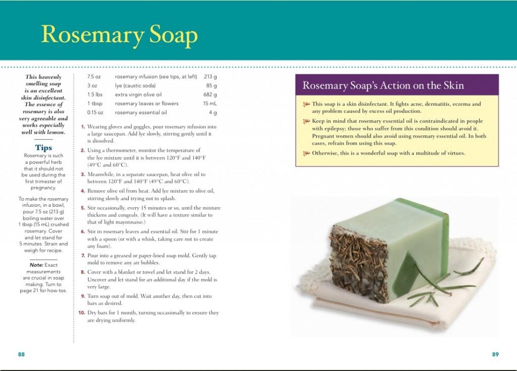 Rosemary Soap Recipe
