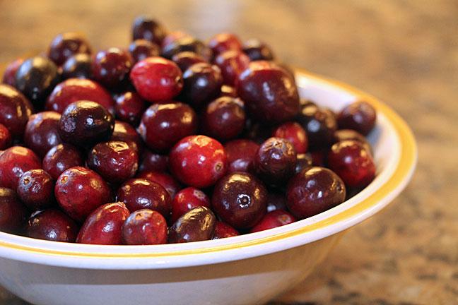 Leftover cranberries