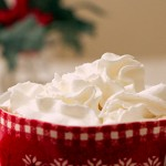 Hot Cocoa from Scratch Topped with Whipped Cream