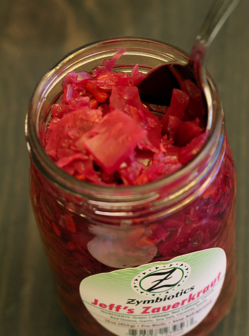 Red Cabbage Enhanced Zauerkraut