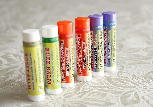 Beessential Natural Lip Balms