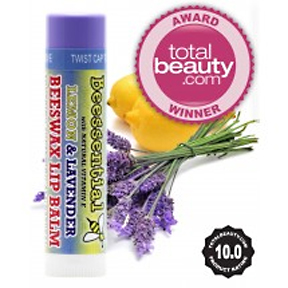 Award Winning Beesential Lemon Lavender Lip Balm