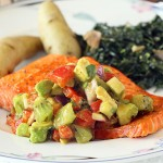 Broiled Salmon with Fruit Salsa