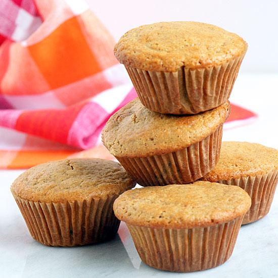 Vanilla Plum Muffins