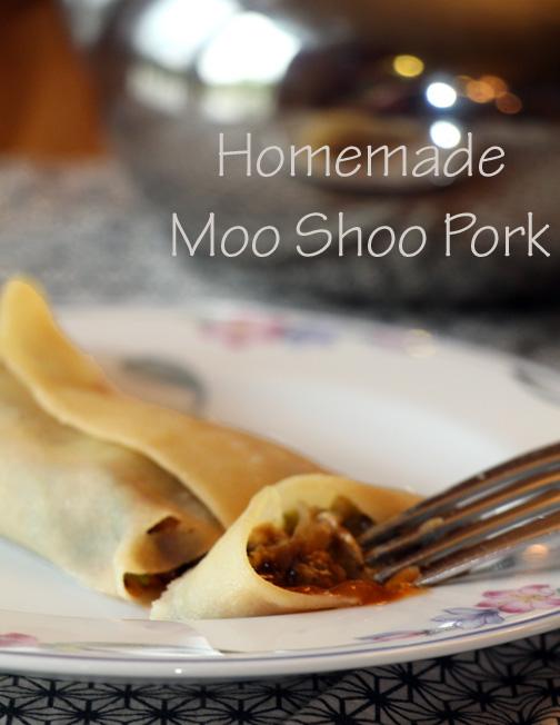Homemade Moo Shoo Pork