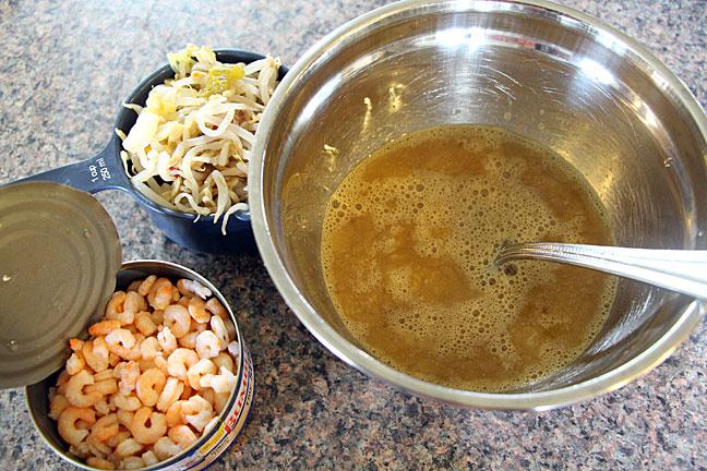 Simple ingredients make tasty Egg Foo Young