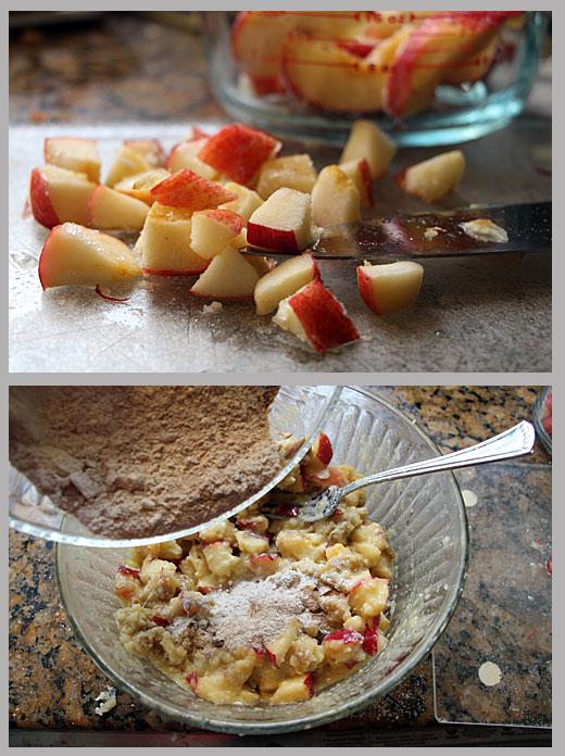 Making Scandinavian Apple Cake