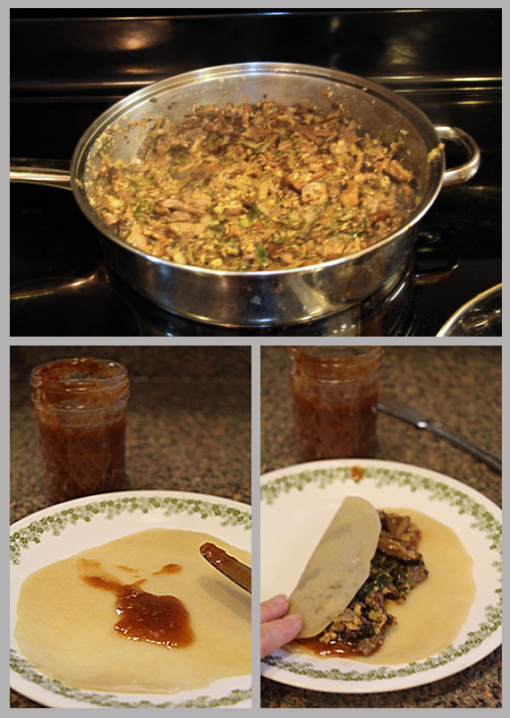 Making Homemade Moo Shoo Pork