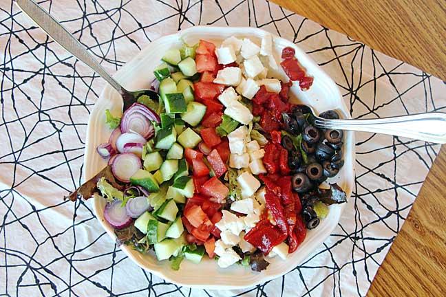 CSA Greek Salad