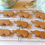 Swedish Elephant spice cookies