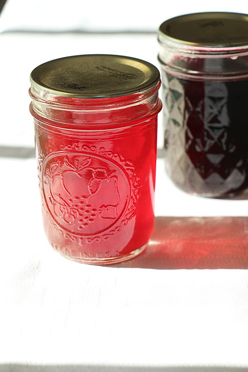 Black Currant & Strawberry Simple Syrup