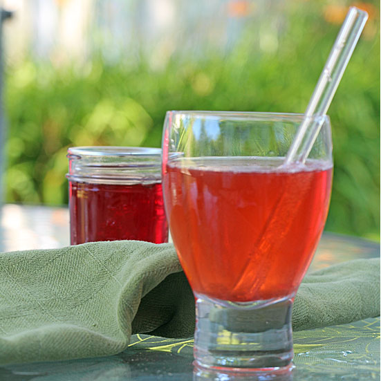 Strawberry Simple Syrup (or Blueberry or …)
